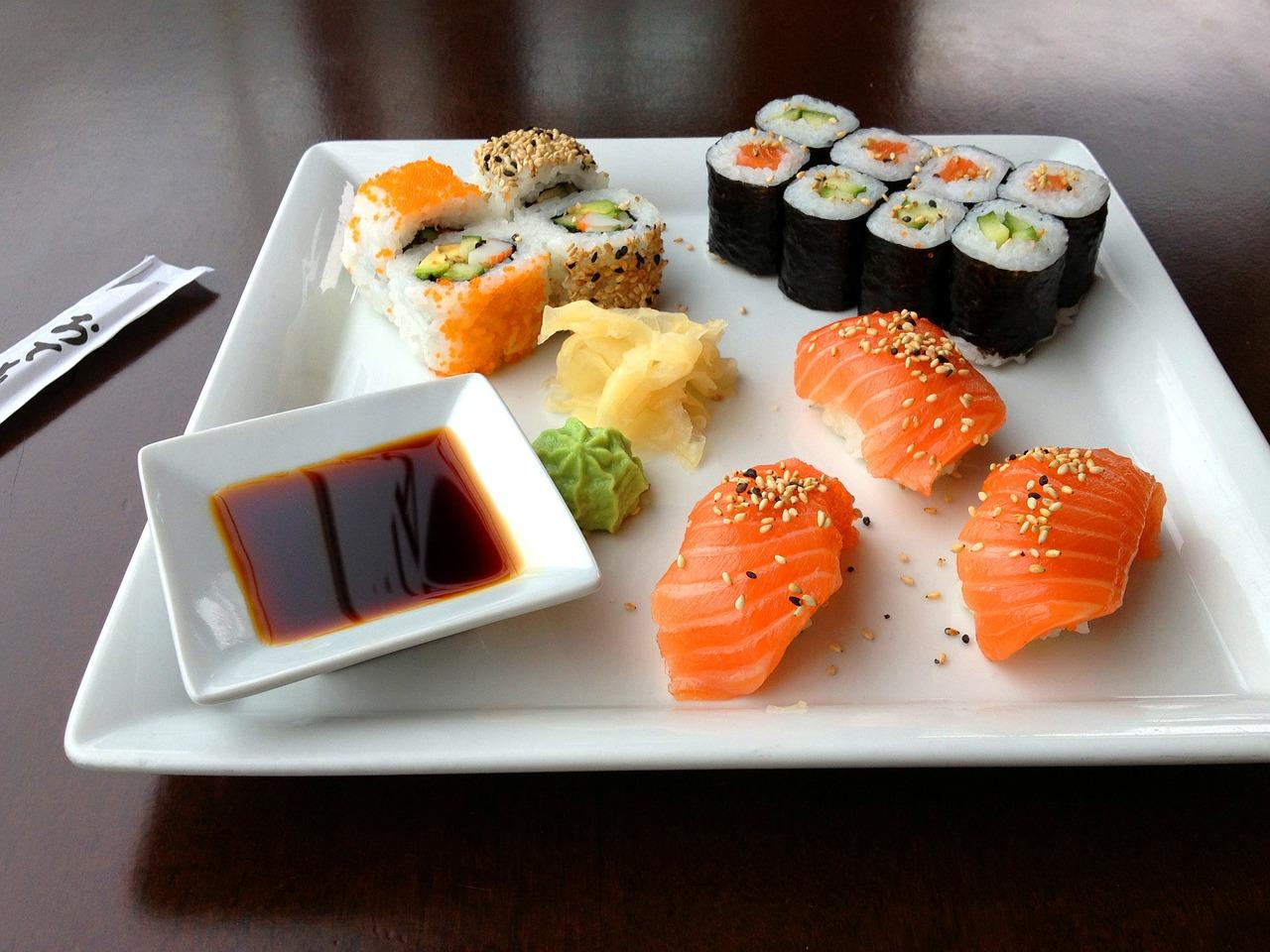 sushi e vaporiere